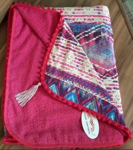 Canga Toalha Indiana Pink REF0201