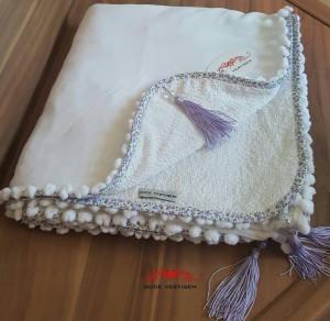 Canga Toalha Lisa Branca REF0225