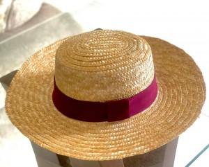 Chapéu Faixa Vinho