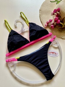 Conjunto Best Pink/Verde Semifio